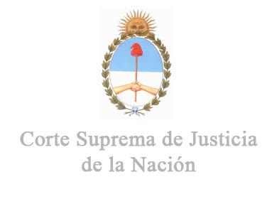Resultado de imagen para Corte Suprema de Argentina logo