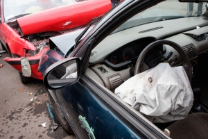 Choque de autos