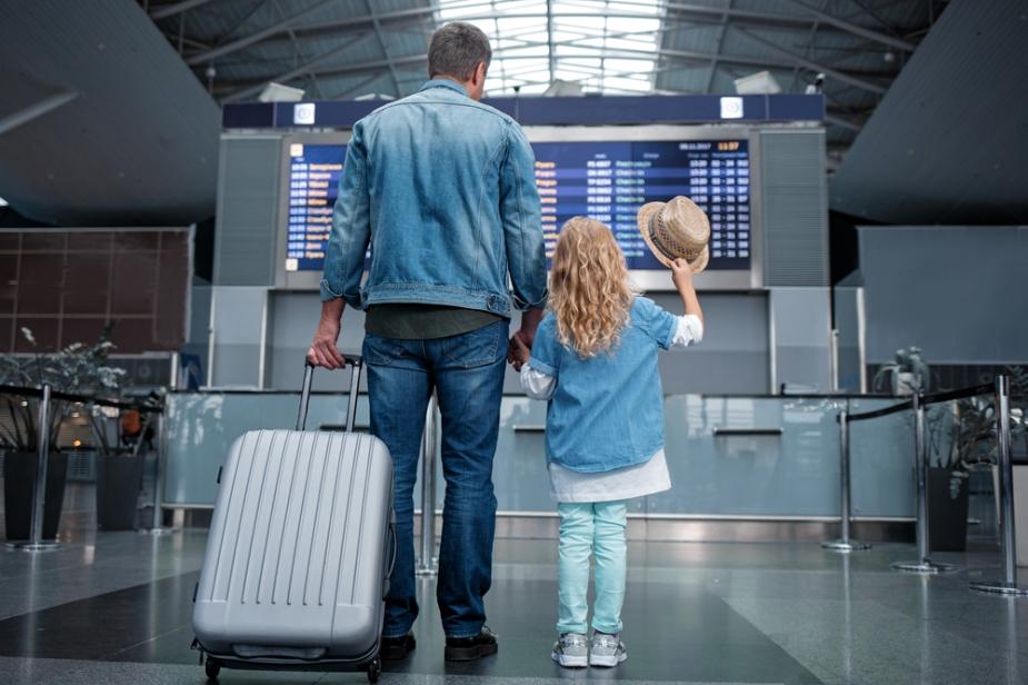 padre e hija viaje
